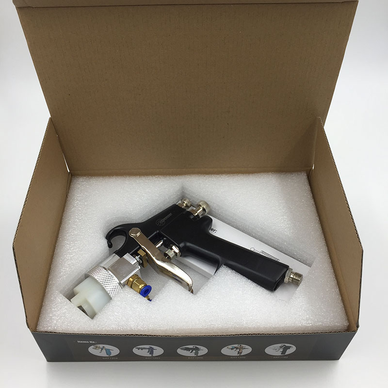 SAT1182 Nano Chrome Pneumatic Spray System Paint Gun Professional - Elektrické nářadí - Fotografie 5