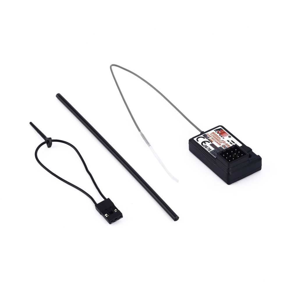 Hot The Standard FS GR3E 2 4Ghz 3 Channel Receiver for Rc Car Auto Boat NO