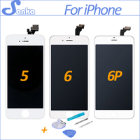 SANKA AAA For Apple IPhone 5S 5C 5 6 6Plus LCD Display Touch Screen Full Set