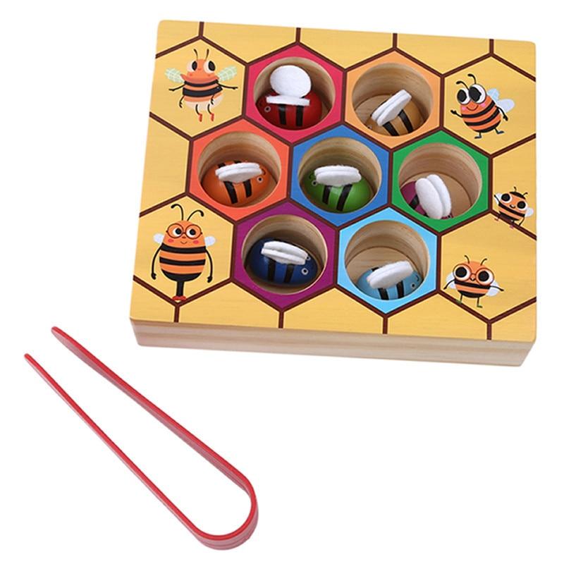 Детская игрушка Монтессори, развивающая игрушка с цветным звуком