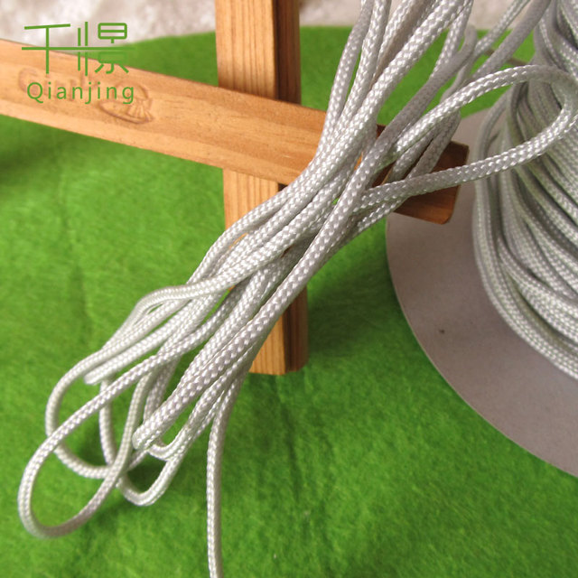 2MM THIN POLYPROPYLENE ROPE BRAIDED POLY CORD STRONG STRING DIY ...