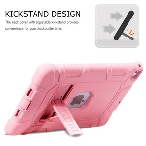 Image 5 - Shockproof Heavy Duty Rubber Hard Stand Case Cover For iPad 9.7 2018 Case 6th Gen A1893  A1954 2017 5th Gen A1822 A1823