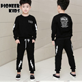 Pioneer Kids Kids Clothes Set Big Boys Clothes Suit Boys Clothing Long Sleeve Tshirt Pants Casual Tracksuits Children Clothes