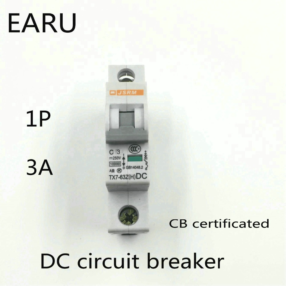 1p 3a Dc 250v Circuit Breaker Mcb For Pv Solar Energy Induction Cooker Pcb Diagram Electricalequipmentcircuit Photovoltaic System Battery C Curve Cb Certificated Din Rail Mounted