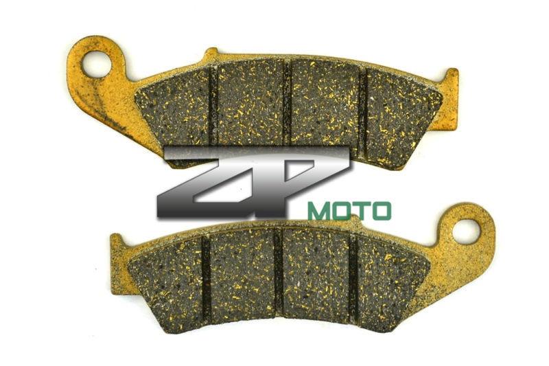 Organic Kevlar Brake Pads For CR 250R CR 125R 87-94 TRX 250R 86-89 NX 250 87-93 CRM 250 R 89-93 AX-1 NX250 89-94 Front Brand New 1999 2000 arctic cat 250 2x4 kevlar carbon front brake pads