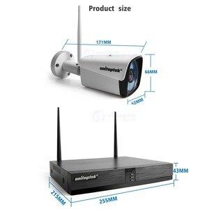 Image 5 - 4CH 8CH 1080P Kit NVR inalámbrico sistema de cámaras de seguridad para el hogar 1.0MP 2MP HD Video vigilancia CCTV sistema de cámara exterior wi fi NVR