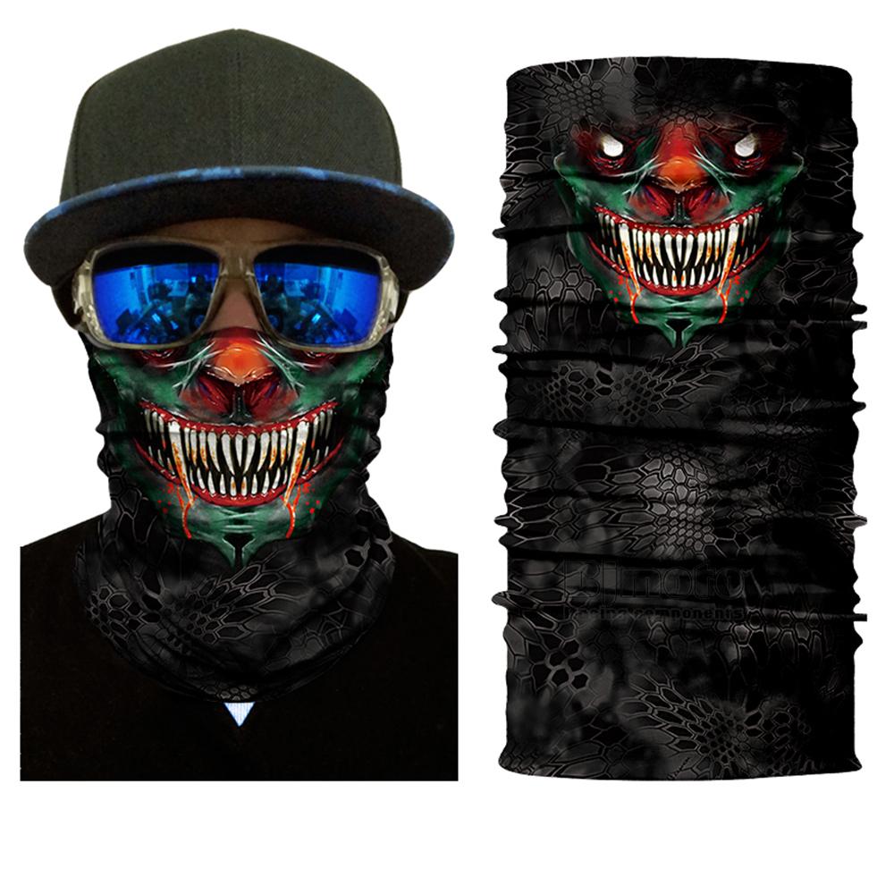 Multifunctional Motorcycle Face Shield Bandana Skull Scarf UPF High Quality Tube Skull Face Mask Shield Seamless Bandanas (3)
