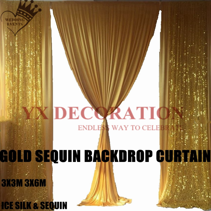1Meter ICE SILK SMOOTH FABRIC Wedding Swags Overlay Curtains Backdrop Decor New