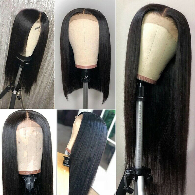 Brazilian Natural Straight Lace Wig