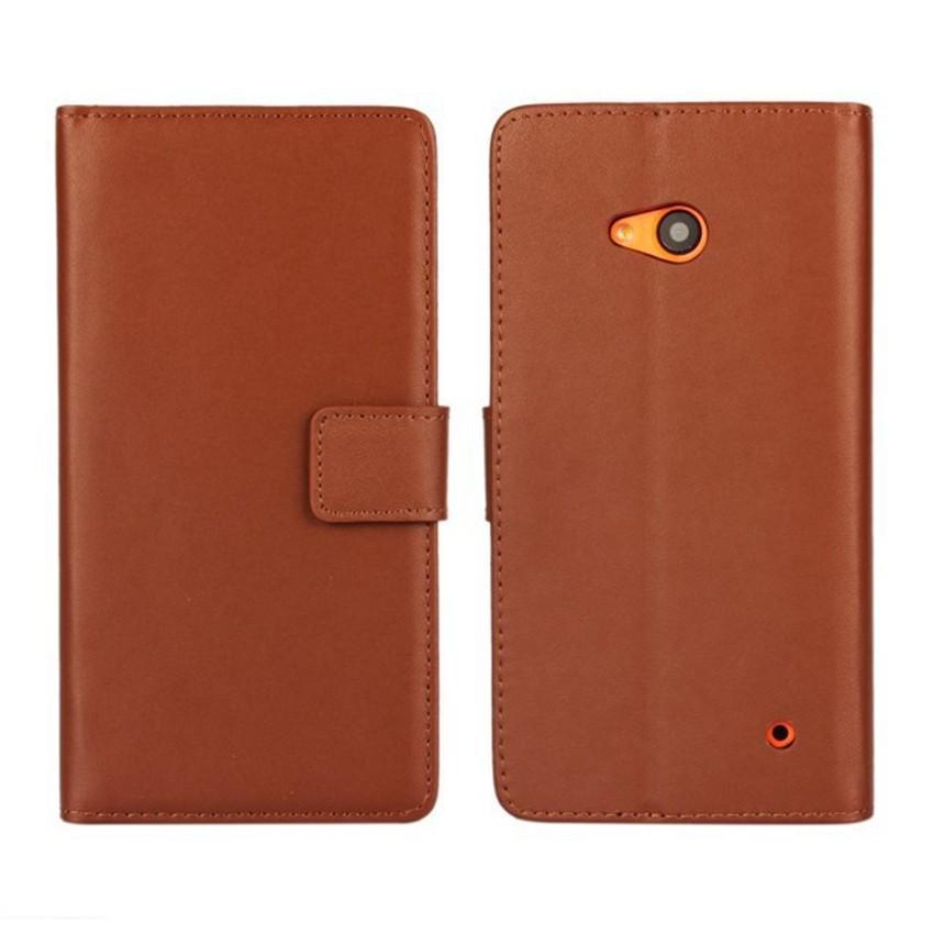 Luksusowe odwróć portfel genuine leather case pokrywa dla microsoft lumia 640 lte dual sim cell phone case do nokia 640 n640 powrót pokrywa 14