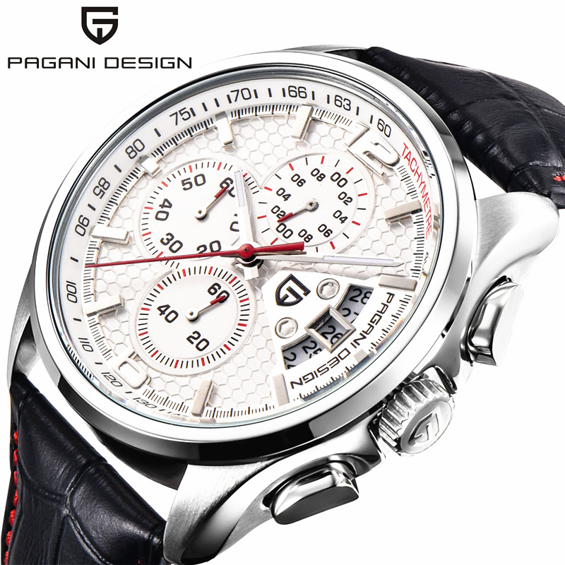 2019 Watches Men Luxury Brand Pagani Design Chronograph Quartz Watch Multifunctional Fashion Men s Sport Clock