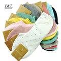 5 pairs = 1 lote de algodão meias invisíveis meias dot mulheres verão fino doces cor tornozelo frete grátis