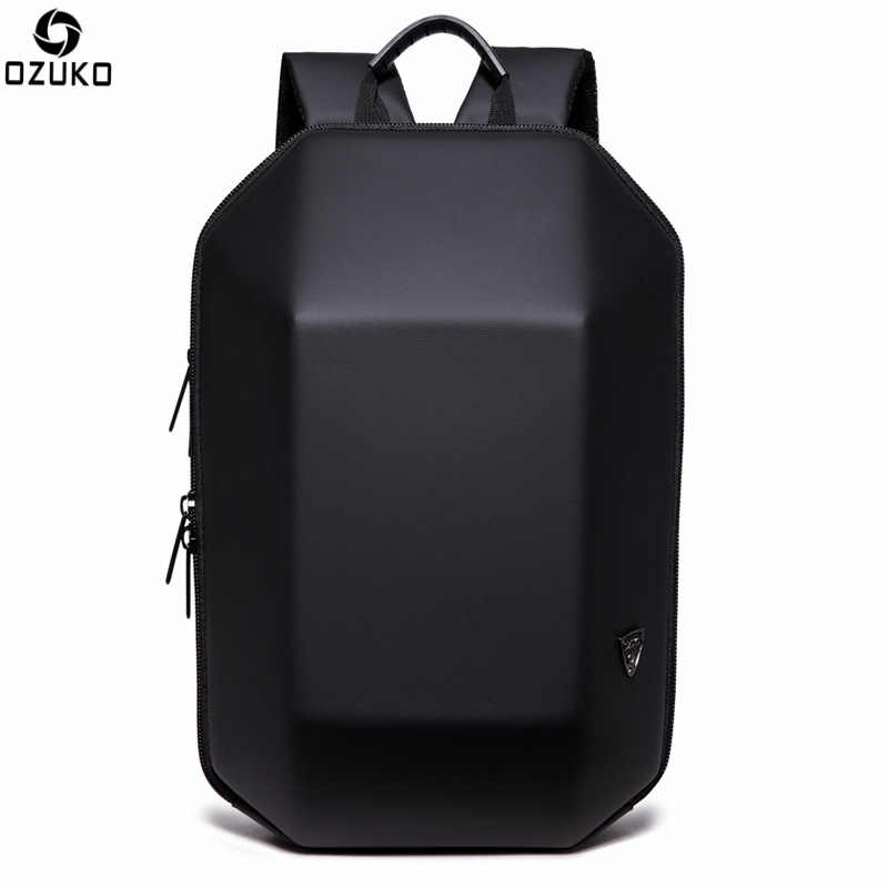 OZUKO New Arrivals Laptop Backpack Men For 15.6 inches Large Capacity  Waterproof Anti theft Backpack School 2a466df68a9d7
