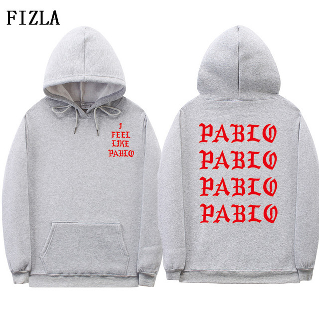 Fear Of God Life Pablo Kanye West Hoodie Men Hip Hop Tracksuit Sweatshirts I Feel Like Paul Pablo Sportswear sweat homme hoodies