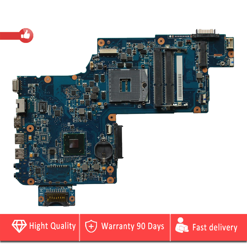 YTAI for Toshiba Satellite L870 C875 C870 laptop motherboard HM76 DDR3 REV:1.1 PLF/PLR/CSF/CSR UMA Mianboard fully tested h000046310 laptop motherboard for toshiba satellite c875 hm76 gma hd4000 ddr3