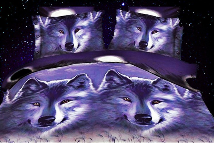 Popular Wolf Bedding Sets-Buy Cheap Wolf Bedding Sets lots ...