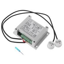 Умный регулятор уровня жидкости с 2 бесконтактными датчиками