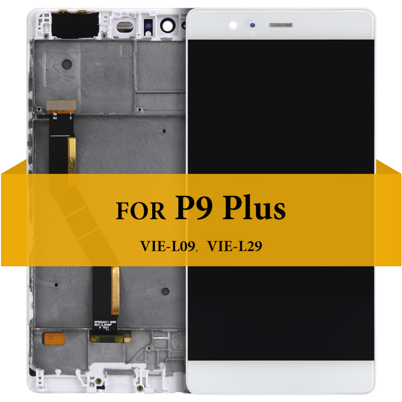 For Huawei P9 Plus LCD Display With Touch Screen Assembly Replacement 5.5' For Huawei P9 Plus LCD VIE L09 VIE L29 With Tools-in Mobile Phone LCD Screens from Cellphones & Telecommunications    2