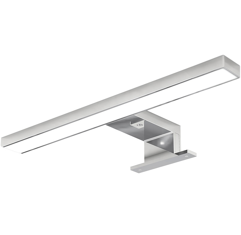 Bathroom Mirror Lighting / Vanity Lamp / Wet Location / Bath Bar Light / Satin Chrome Surface бра n light heart b 924 2 satin chrome