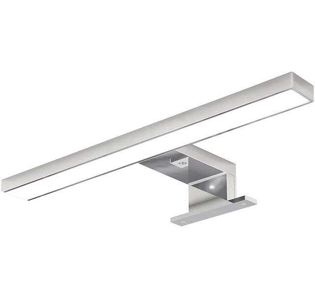 Bathroom Mirror Lighting / Vanity Lamp / Wet Location / Bath Bar Light /  Satin Chrome