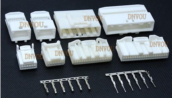 Ship My Car >> 50Set The 40 hole FOR Toyota CD AUX USB plug connectors ...