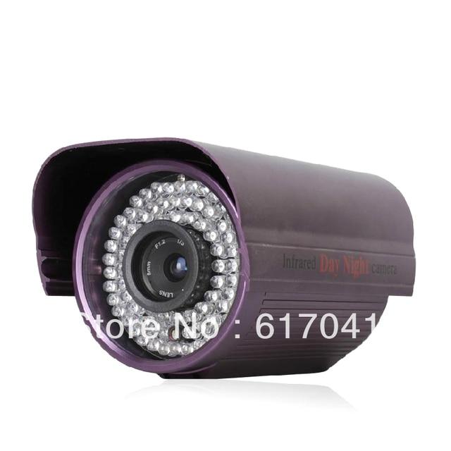 "Effio-es 1/3""CCD color sensor 750TVL 84 Leds CCTV Security Camera metal house FC21"