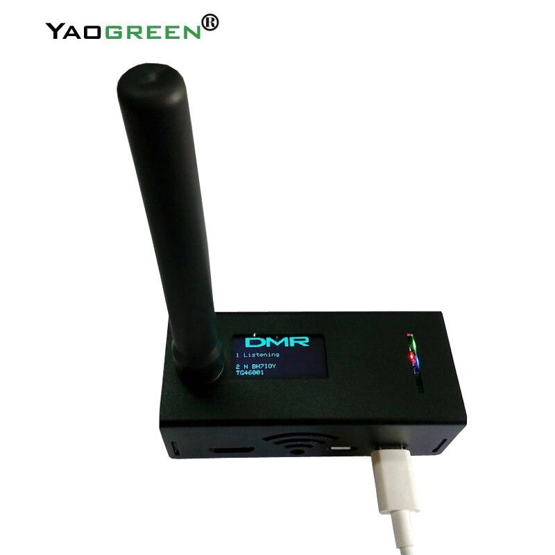 Control remoto Walkie Talkie montado prueba MMDVM Hotspot P25 DMR YSF + Raspberry pi + pantalla OLED Hotspot + 16G TF tarjeta listo para QSO 2