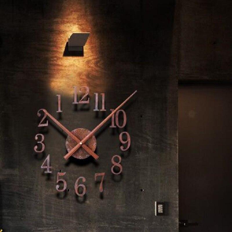 DIY რეტრო საათი საატი - სახლის დეკორაცია - ფოტო 5