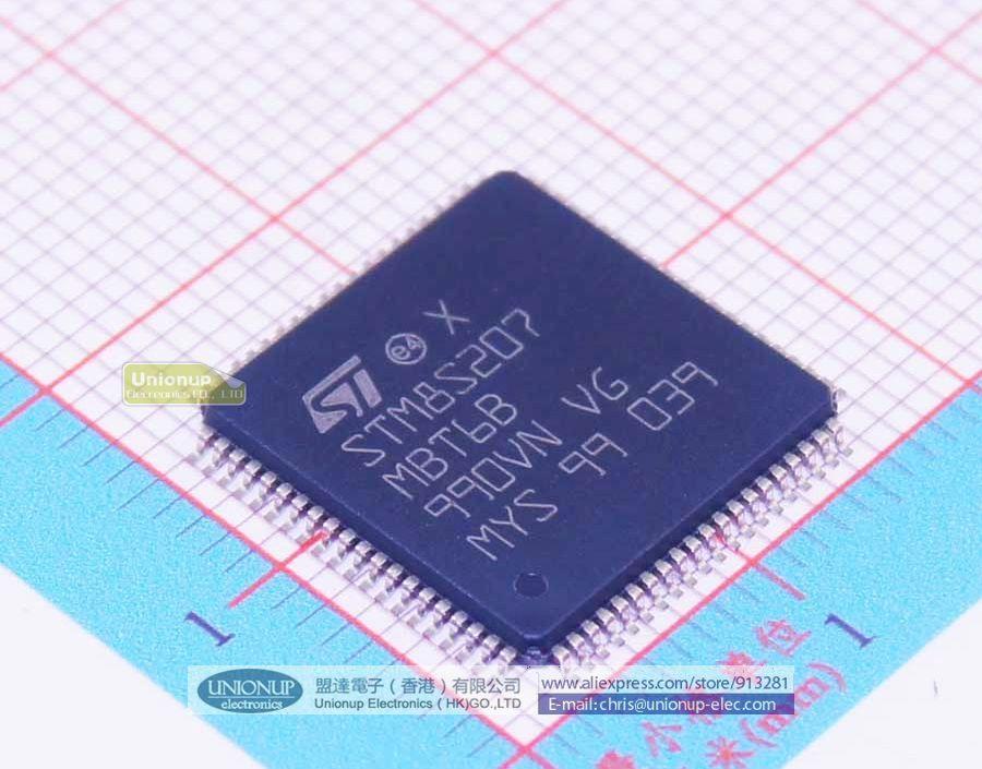 Электронные компоненты и материалы Stm8s207mbt6b Stm8s207