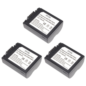 Image 3 - Batería reemplazable CGA S006 CGR CGA S006E S006 S006A BMA7 DMW BMA7 para Panasonic DMC FZ7 FZ8 FZ18 FZ28 FZ30 FZ35 FZ38 FZ50, 2 unidades