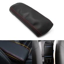 Автомобиль Центральной Консоли Подлокотник Обложка DIY кожа защиты площадку для Honda Civic 8th Gen 2006 2007 2008 2009 2011