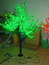 Christmas New year party holiday  LED Cherry Blossom Tree light 1152 pcs LED Bulbs 2m/6.5ft Height 110/220VAC Rainproof Outdoor