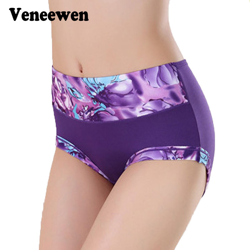 Veneewen Cotton Seamless Sexy Briefs Panty Underwear Women