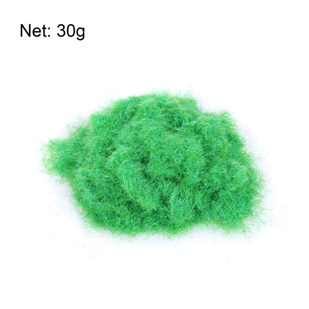 30g Artificial Grass Powder 6 Colors Sandbox Game Micro Landscape Decoration Home Garden DIY Accessories Building Model Material