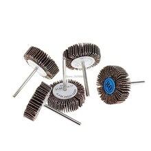 5Pcs/Set Sandpaper Flap Polishing Disc Set Wheel For Rotary Tools Shutter Power JUN13