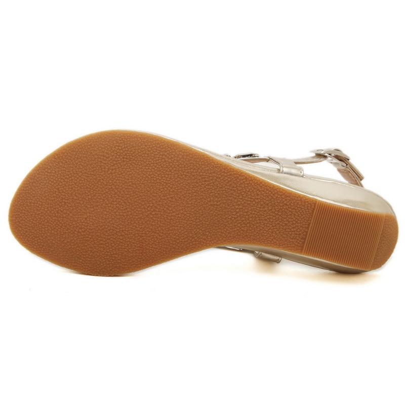 Goud Zilver Twee kleuren Optionele Dames Sandalen Schoenen met Mode - Damesschoenen - Foto 4