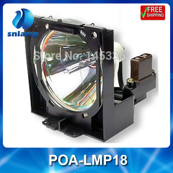 Hot sale compatible projectorlamp bulb POA-LMP18/610-279-5417 for PLC-SP20 PLC-XP07 PLC-XP10A PLC-XP10BA PLC-XP10EA PLC-XP10NA replacement projector bare lamp bulb with housing poa lmp18 610 279 5417 for sanyo plc xp07 pcl sp20 plc xp10na projectors