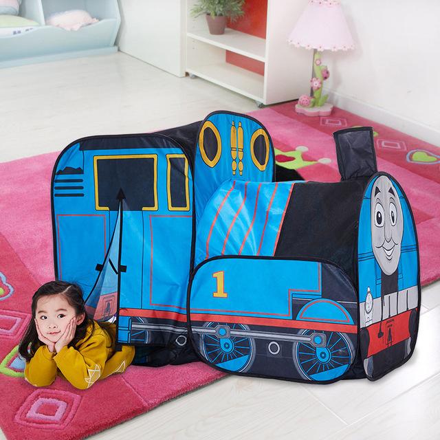 Playhut thomas juego carpa infantil casa de juego tienda casa portátil plegable prince tipi carpa plegable regalos de los niños de juguete al aire libre