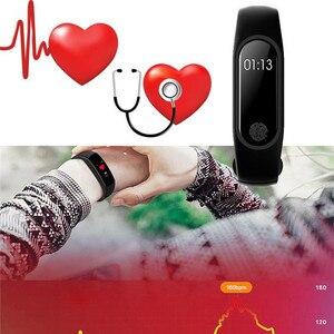Image 4 - HORUG pulsera deportiva reloj inteligente hombres mujeres reloj inteligente para Android IOS Fitness Tracker electrónica reloj inteligente banda reloj inteligente