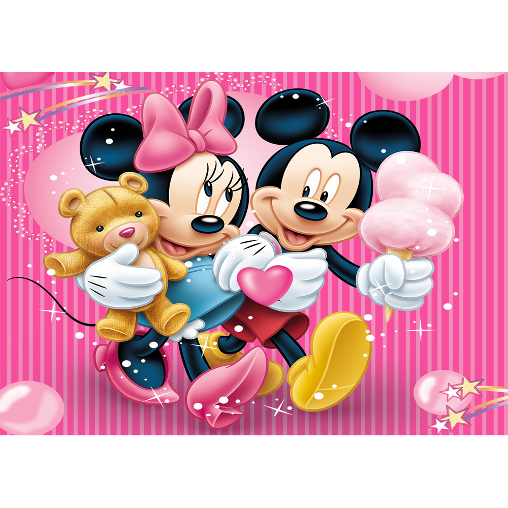 Mickey Mouse Birthday Background 7x5 Photography Background