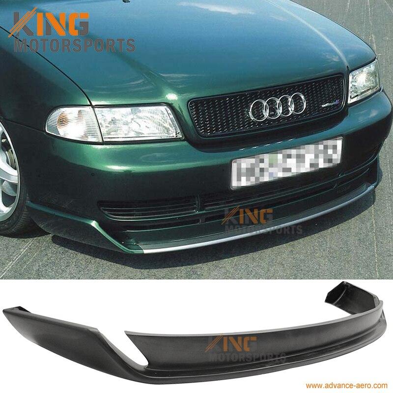 Здесь можно купить  For 1996 1997 1998 1999 2000 2001 Audi A4 Type O Style Front Bumper Lip Urethane  Автомобили и Мотоциклы