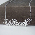 DIY Letter necklace name necklaces & pendants 925 silver jewelry beauty personalized customize gift handmade birthday gift