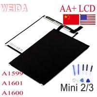 WEIDA LCD Replacement 7.9 For iPad Retina Mini 2 Mini 3 LCD Display Screen A1599 A1601 A1600 mini2 mini3 LCD USA Shipping