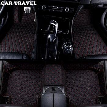 Custom car floor mats for Volkswagen vw passat polo golf tiguan jetta touran touareg bora Sagitar Magotan Teramont car-styling