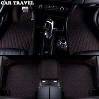 Custom car floor mats for Volkswagen vw passat polo golf tiguan jetta touran touareg bora Sagitar Magotan Teramont car styling