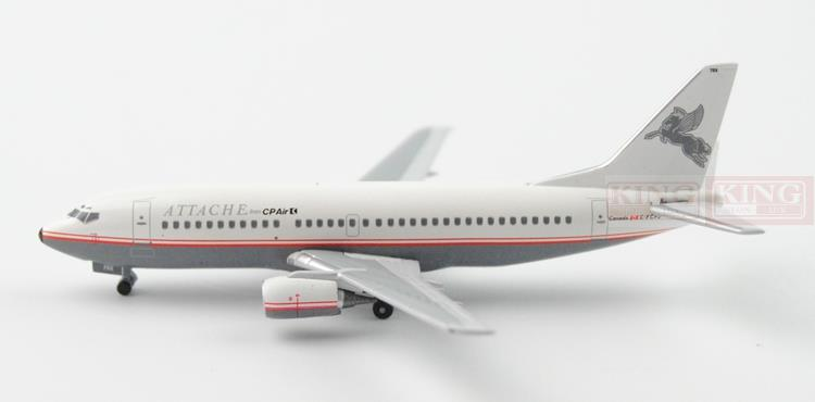 ATTACHE B737-300 C-FCPJ 1:400 Aeroclassics commercial jetliners plane model hobby