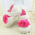 Toddler Baby Girl Flower Princess Shoes Soft Sole Prewalker Crib Shoes 0-18M