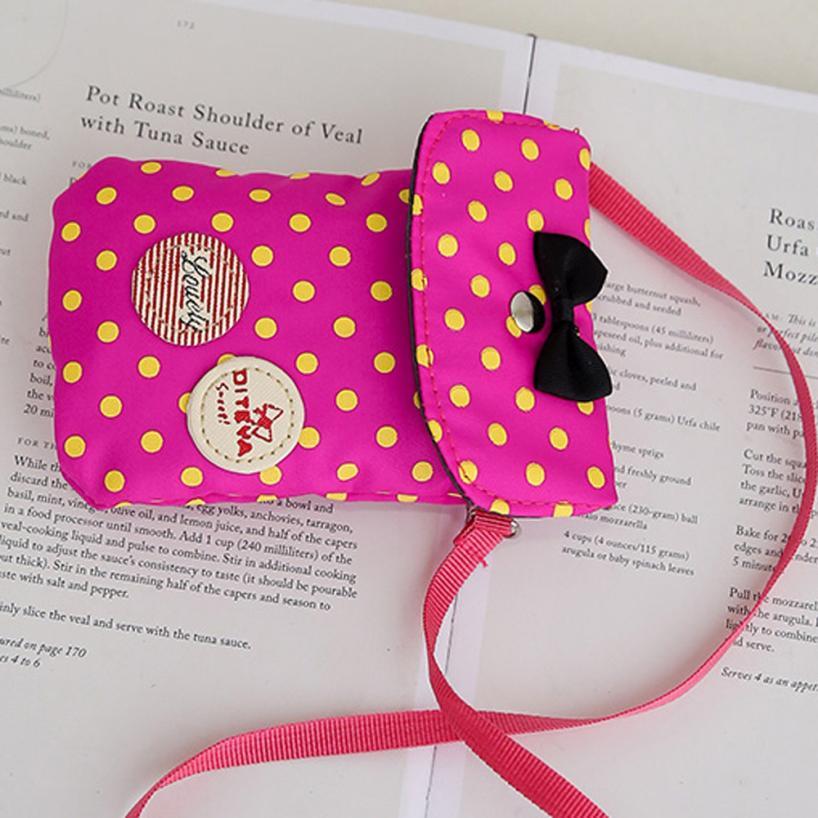 red Viaggio Pink Jl26 Zaino Borsa Satchel Dropshipping Ragazze Bag Da Donne Black hot Dots blue 1 Set Zainetto Bowknot Shoulder Nylon zqSRR1
