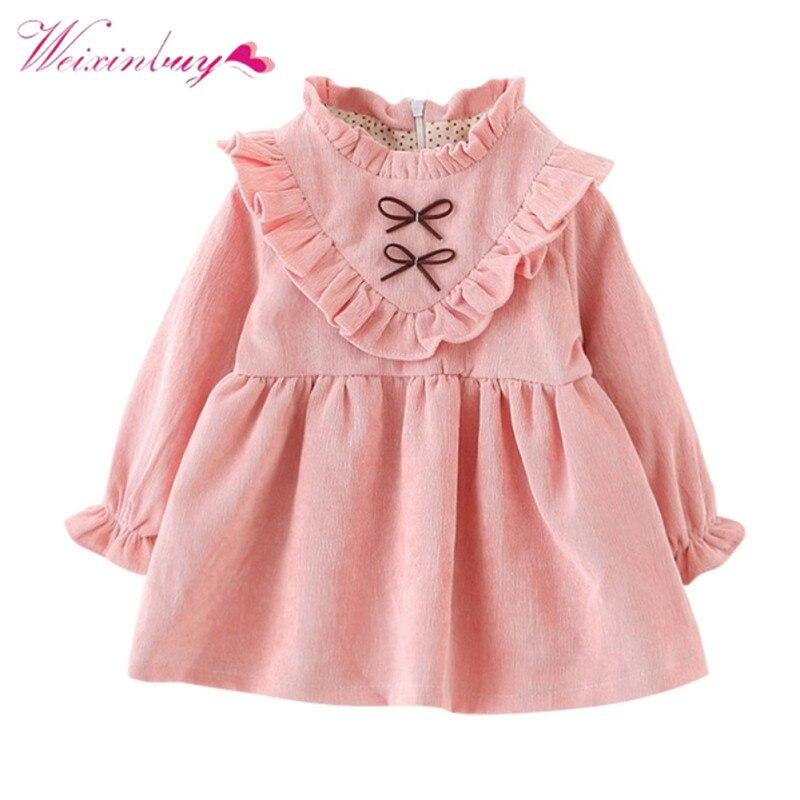 все цены на Children's Girl Petal Sleeve Princess Dress Ruched Pink Dress Free Style Girls Clothing Girls Party Wedding Dress в интернете