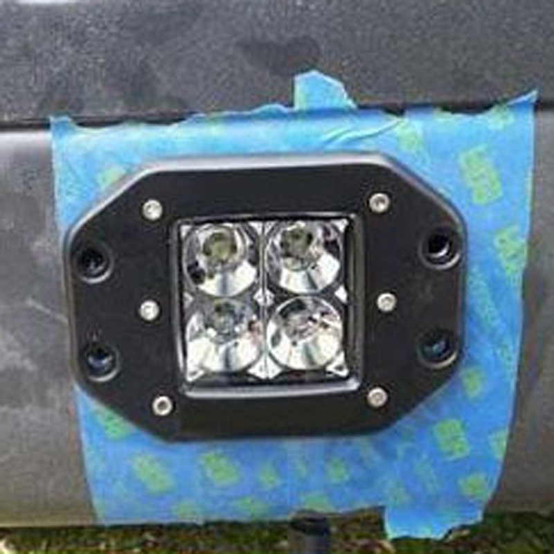 F150 Raptor LED Rear light taillight Fog light Parking Reverse Backup light Offroad driving lamp Led